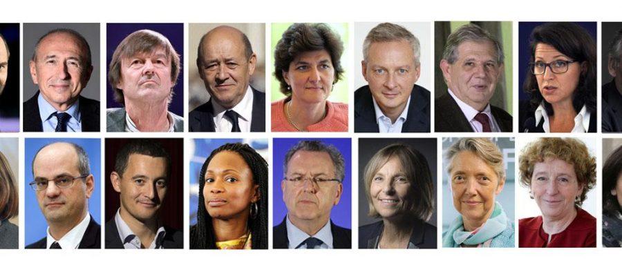 Ce qu'il faut retenir du premier gouvernement du quinquennat Macron