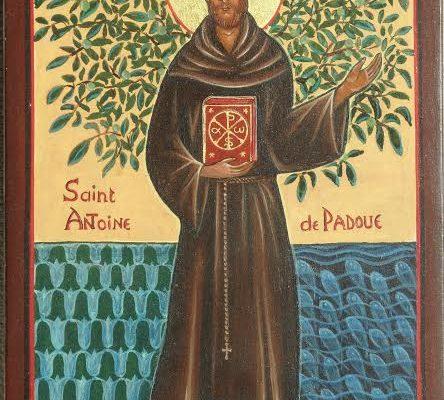 l'icône de Saint ANTOINE de PADOUE