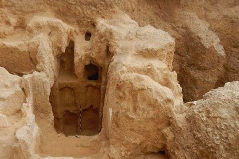 Une tombe hellénistique découverte à Alexandrie