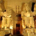 Cérémonies à Paris pour fêter la découverte du temple d'Abu Simbel