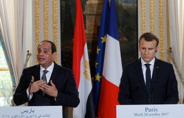Soutien appuyé de la France à l'Égypte
