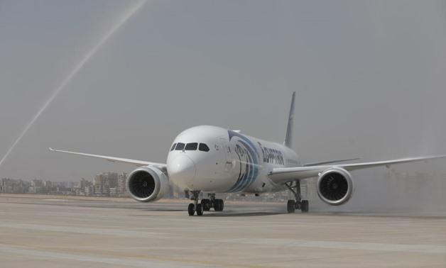 EgyptAir a reçu le B787-9 Dreamliner
